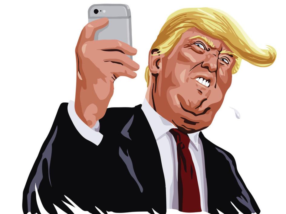 Donald Trump liebt Twitter. (Quelle: © doddis77 / Shutterstock, Inc.)